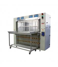 IST ultrasonic washing machine for printing machine parts using solvent inks